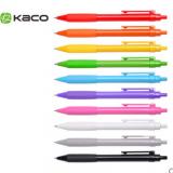 KACO按动中性笔水笔可换芯0.5mm 笔芯颜色可换-深圳礼品公司