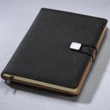 搭扣记事本平装笔记本-礼品定制logo