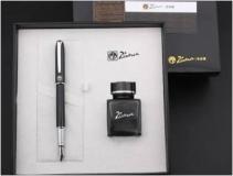 毕加索PS-PFN015钢笔+墨水;宝珠笔+原装笔芯3支