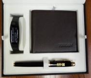 美国派克笔IM纯黑丽雅金夹宝珠笔+ 意大利托斯卡尼  TL66299  +乐心健康手环  +  Mambo    HR