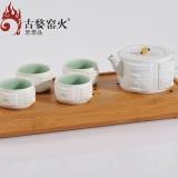 古婺窑火 四方如意(典藏版)一壶四杯套装