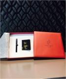 宋锦 名片夹 +派克笔 礼盒套装-商务礼品