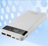 沃品SD10屏显聚合物移动电源(10000mAh)