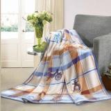 罗莱家纺 都市节奏法兰绒毯