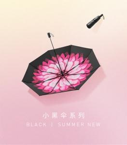 蕉下 小黑伞 BLACK-200 莲町