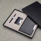 签字笔+名片盒+A5平装笔记本