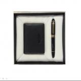 公爵(DUKE)  礼品套装 名片包+钢笔套装