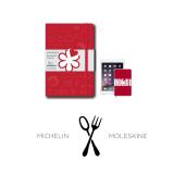 Moleskine  米其林美食笔记本记事本旅行本 硫酸纸,保持百年变色,不褪色