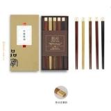 清朴堂 品宴·中国筷五双/十双装
