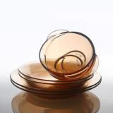 美国康宁VISIONS  百丽玻璃透明餐具  六件套 6P-RZ/CN