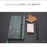 订制笔记本  穿心模具绑带本