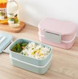 麦香秸秆长方形饭盒