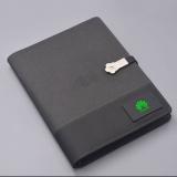 多功能无线充电源笔记本 移动电源记事本 会议礼赠 员工福利
