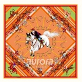 奥罗拉丝巾方巾135*135cm J8系列