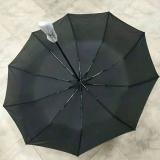 素色黑胶折叠伞 支持logo定制