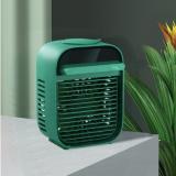 幻响(i-mu)迷你空调扇水冷小风扇桌面超静音电制冷降温器喷雾加湿 空调扇