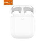Recci G10S真无线蓝牙耳机迷你隐形双耳入耳式运动耳机商务通话跑步手机通用TWS耳机 白色G10T